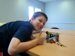 "Isaac, 7, ""The Robot Team Hide Out"""