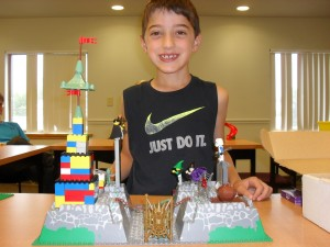 "Nate, 6, ""The Castle"""