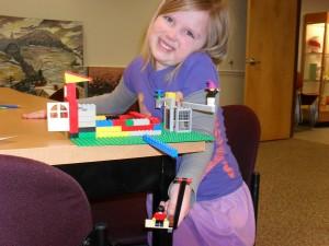 "Madelyn, 5, ""Emmet's House"""